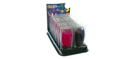 Display for Manicure-Travel Set Nailbox